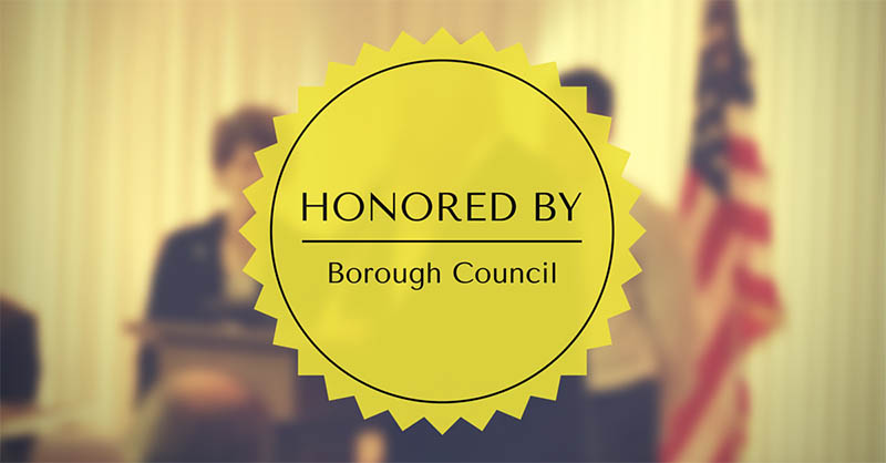 Conshy Italian Bakery Honored by Borough Council