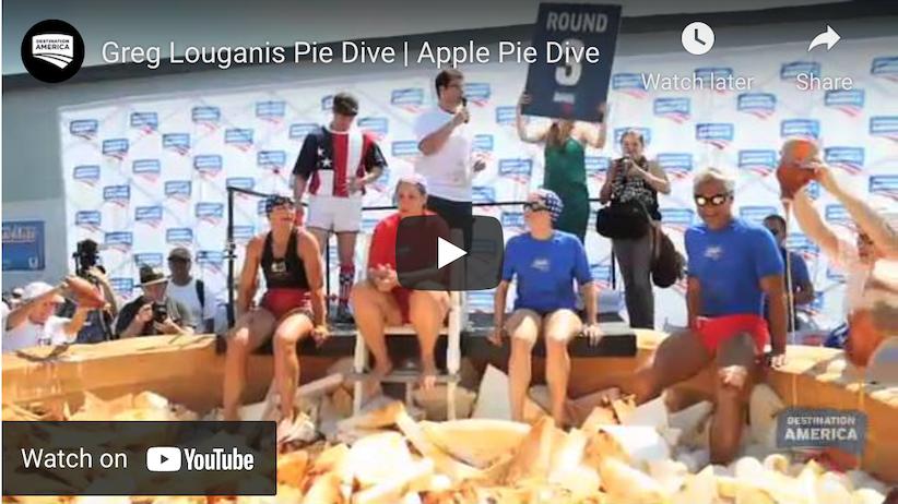 The Great Apple Pie Dive – Custom Stars